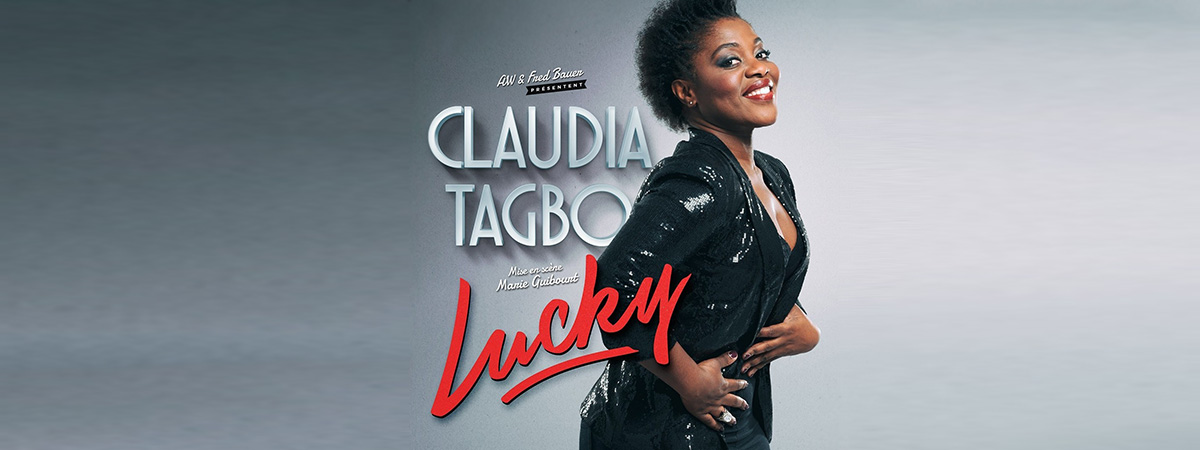 Claudia Tagbo spectacle