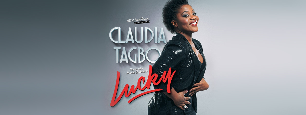 Claudia Tagbo lucky banner