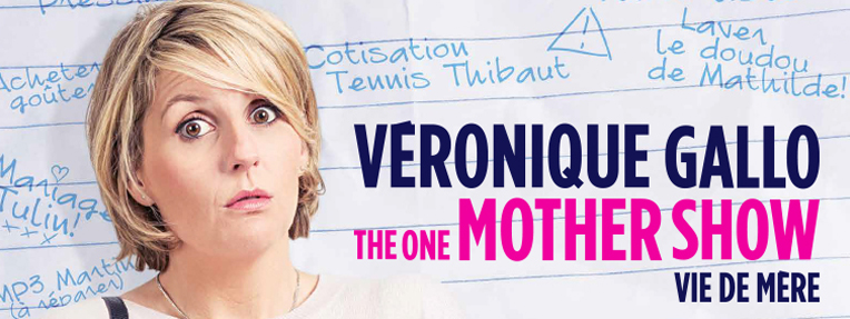 veronique gallo the one mother show cover 2