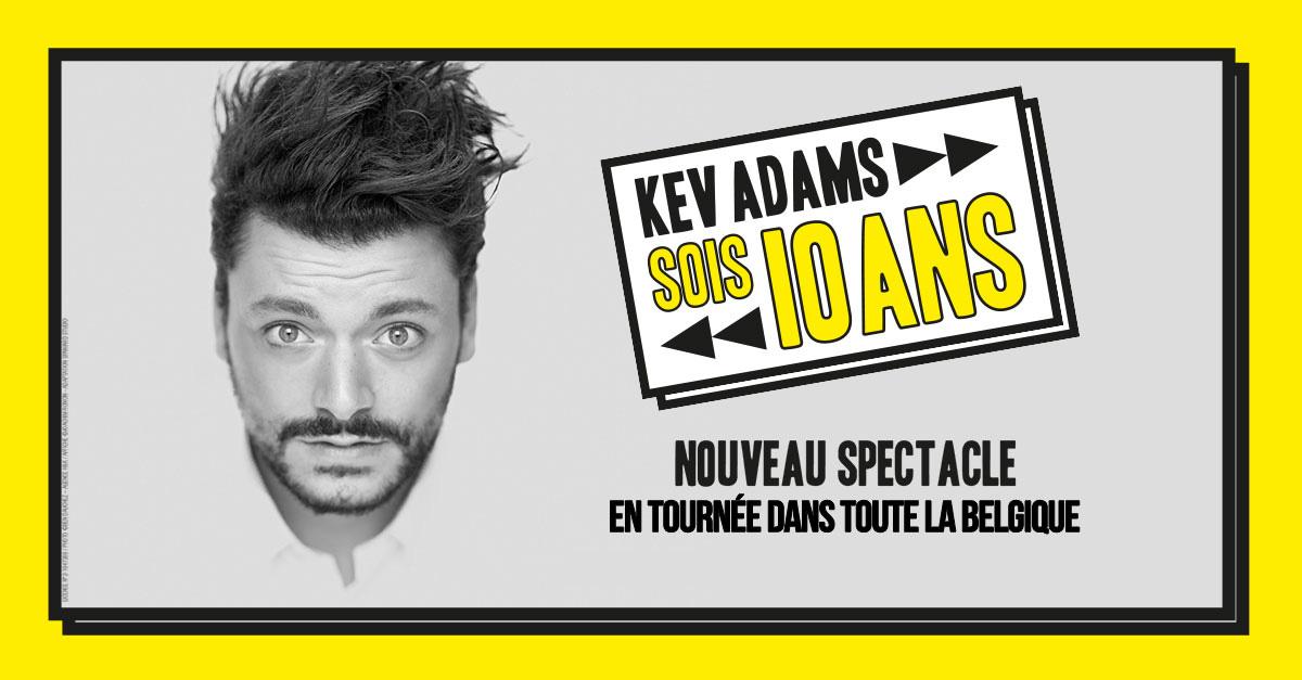 kev adams nouveau spectacle facebook