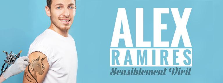 Alex Ramires nouveau spectacle cover