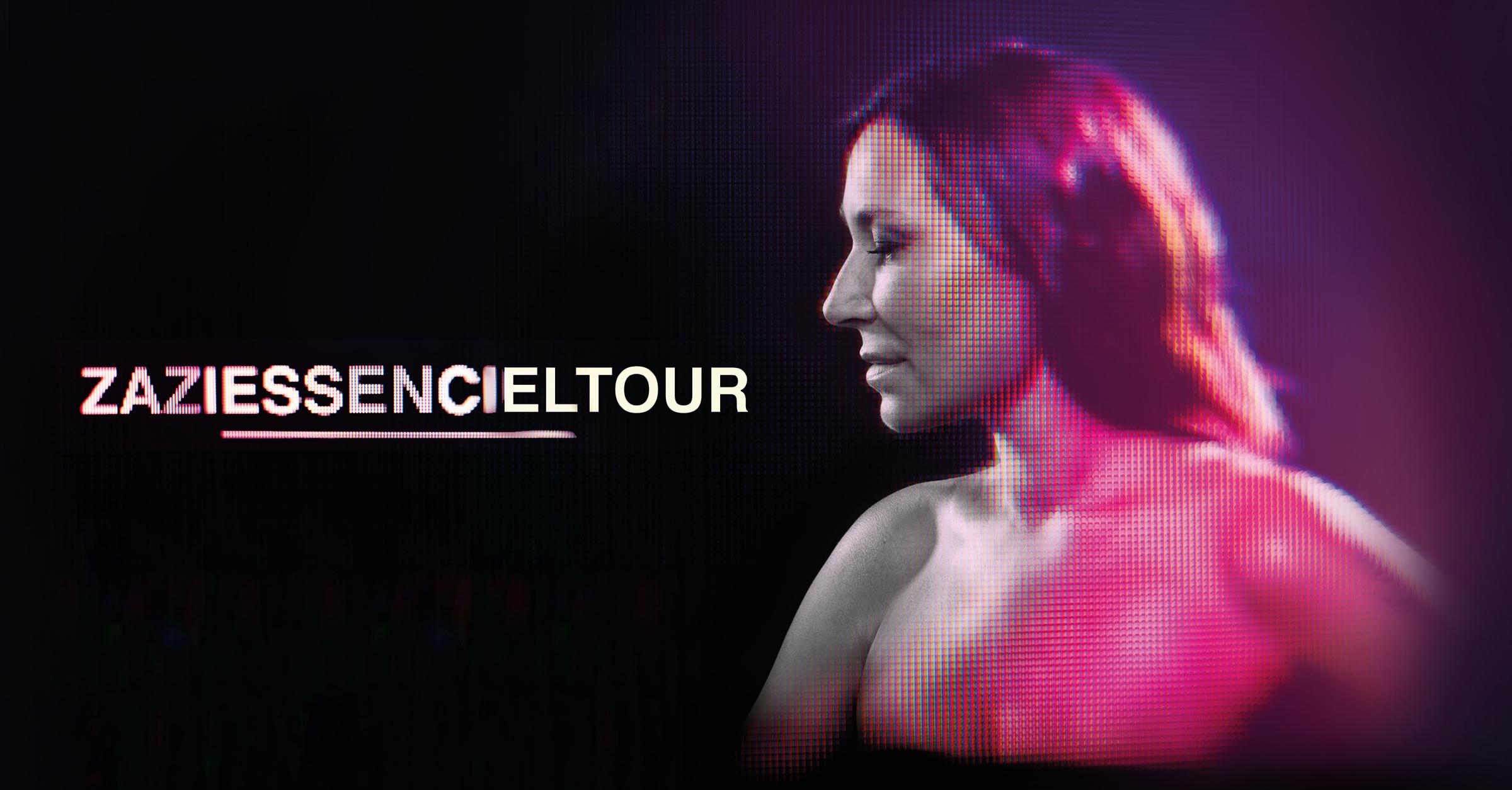 Zazie en concert cover