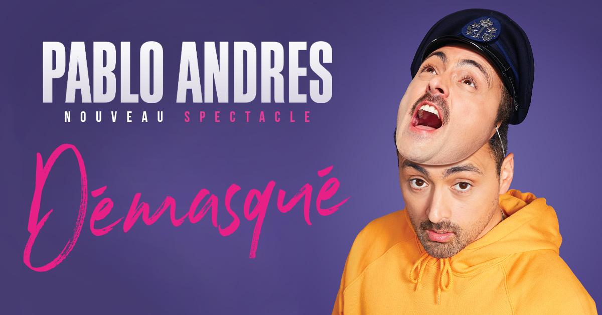Pablo Andres nouveau spectacle cover