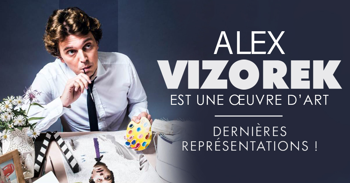 Alex Vizorek nouveau spectacle cover