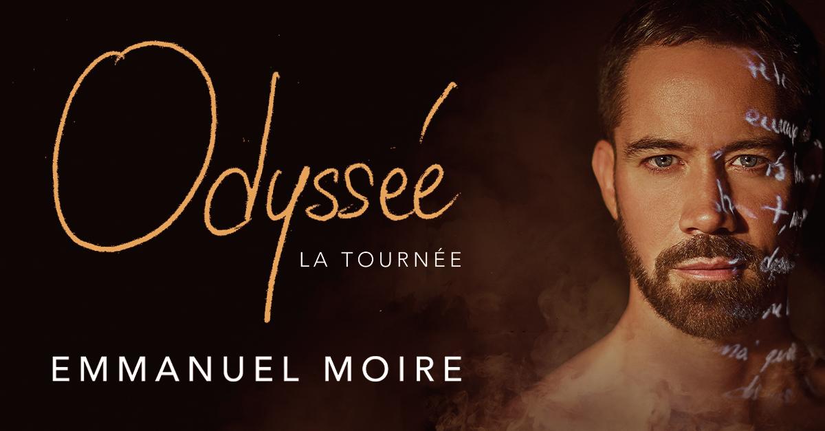 Emmanuel Moire la tournée cover