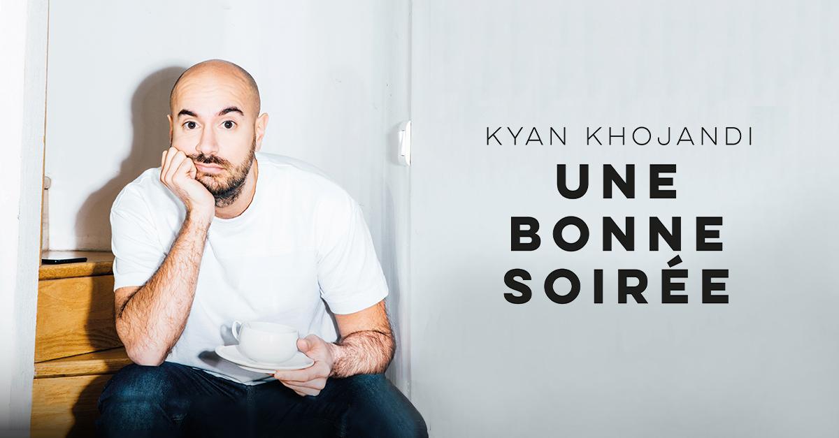 kyan khojandi nouveau spectacle cover