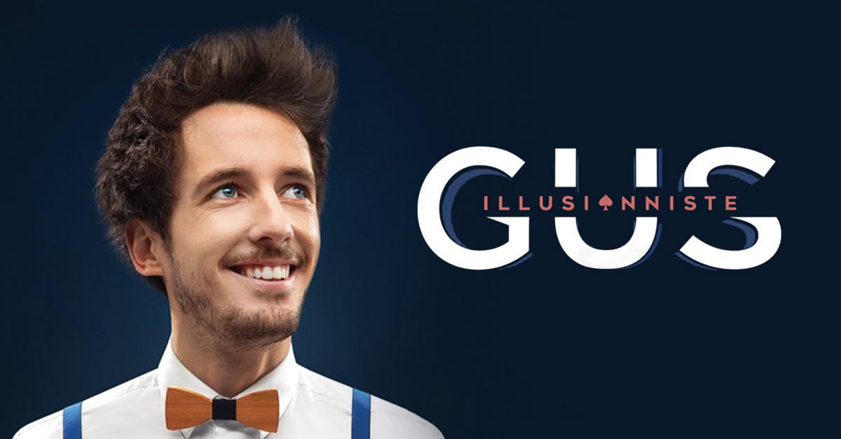 Gus nouveau spectacle cover