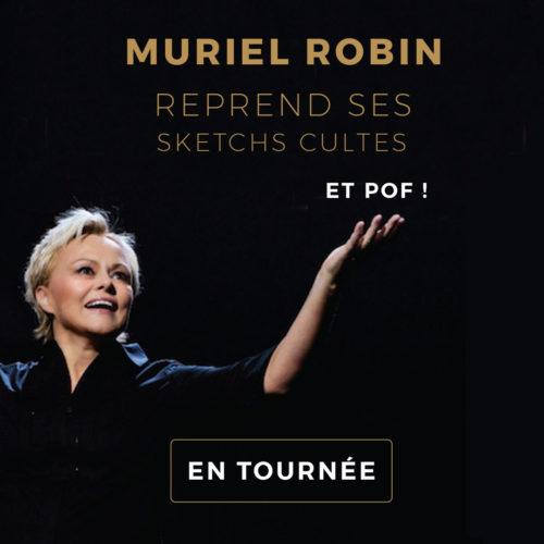 Muriel Robin reprend ses sketchs cultes carre