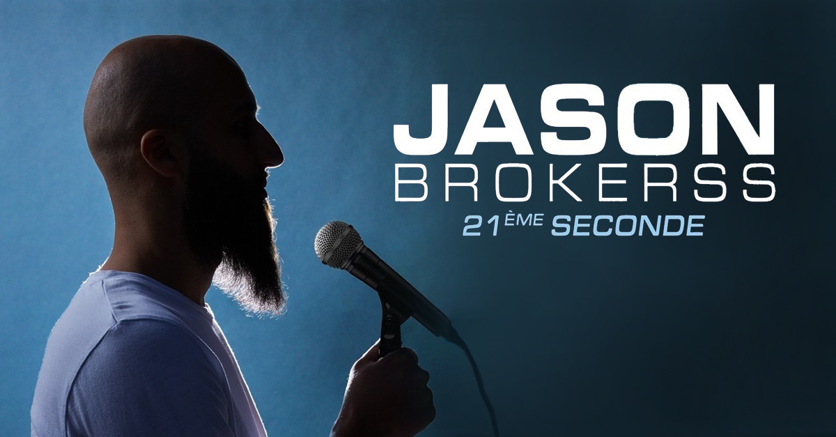jason brokerss nouveau spectacle cover