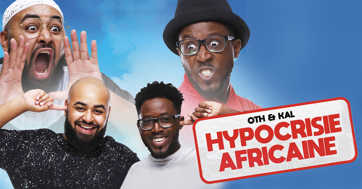 Hypocrisie africaine nouveau spectacle cover