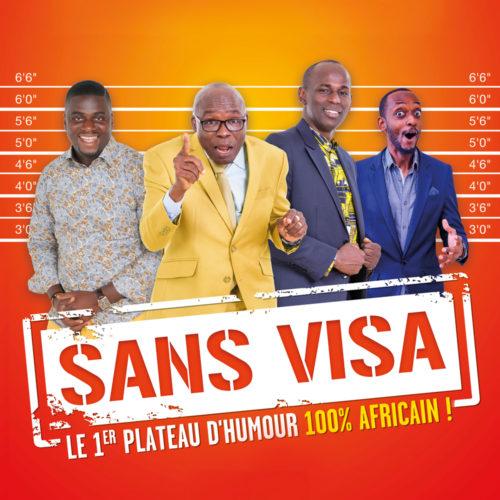 Sans visa humour cover