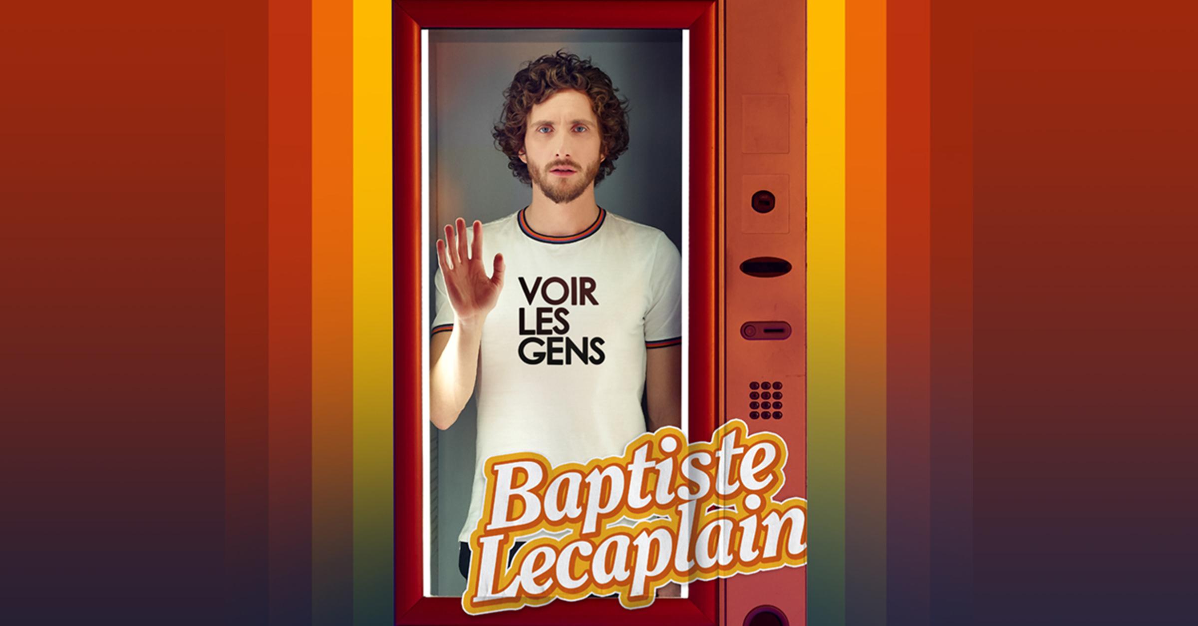 Baptiste Lecaplain Voir les gens cover