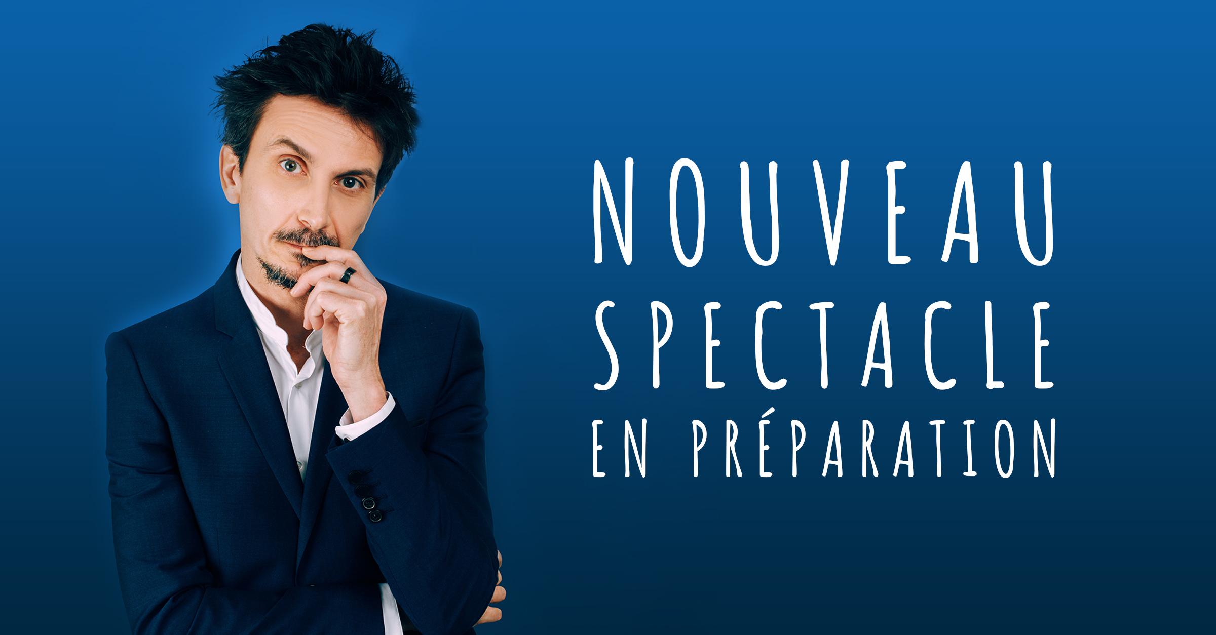Arnaud Tsamere en préparation cover