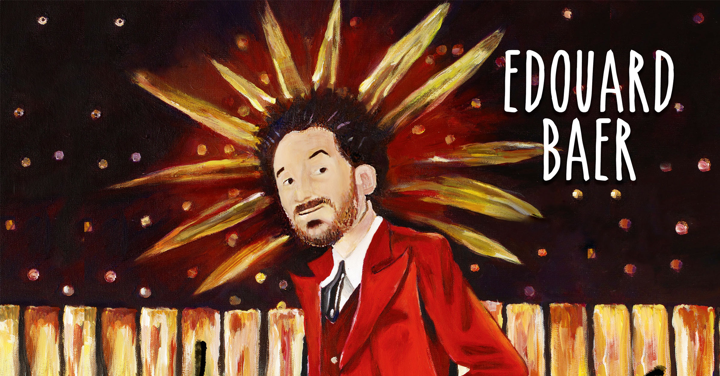 Edouard baer nouveau spectacle cover