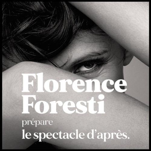 Florence Forest prépare le spectacle d'après