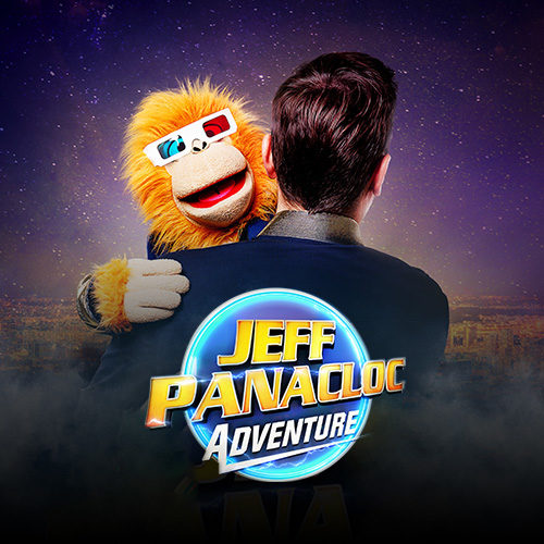 Jeff Panacloc Adventure nouveau spectacle carre