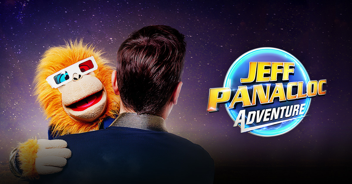 Jeff Panacloc Adventure nouveau spectacle cover