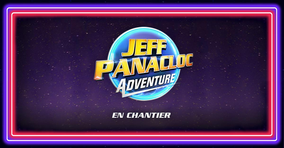 Jeff Panacloc Adventure en rodage nouveau spectacle carre